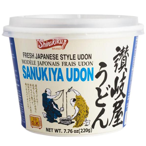 SHIRAKIKU - SANUKIYA UDON - CUP - 7.76oz
