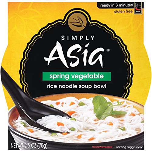 SIMPLY ASIA - SPRING VEGETABLE - GLUTEN FREE - NOODLE SOUP - 2.5oz