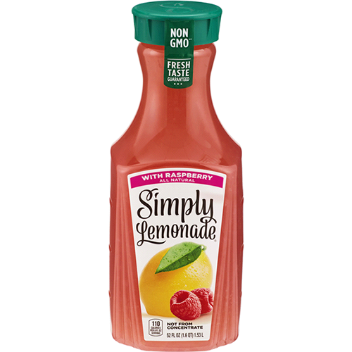 SIMPLY - LEMONADE WITH RASPBERRY - 59oz