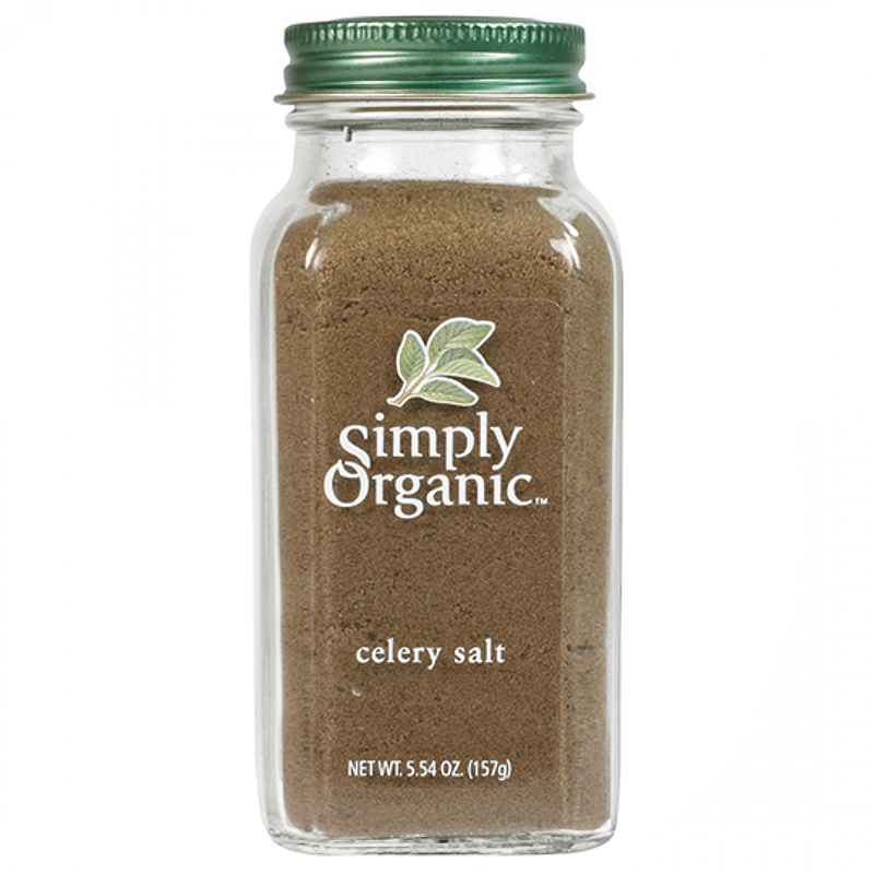 SIMPLY ORGANIC - SEASONING - (Celery Salt) - 5.54oz