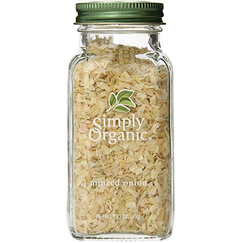 SIMPLY ORGANIC - SEASONING - (Minced Onion) - 2.21oz