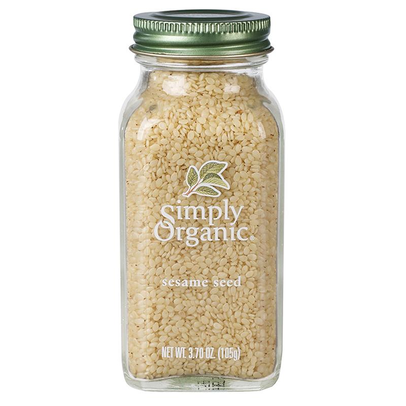 SIMPLY ORGANIC - SEASONING - (Sesame Seed) - 3.70oz