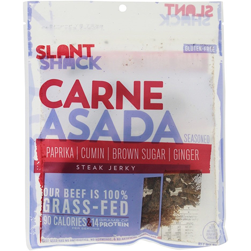 SLANT SHACK - STEAK JERKY - (Carne Asada) - 2oz