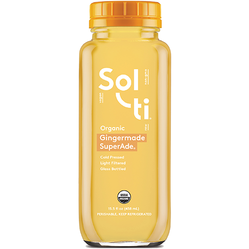 SOL TI - ORGANIC GINGERMADE SUPERADE - 15.5oz
