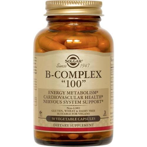 SOLGAR - B-COMPLEX 100 - 50SOFTGELS