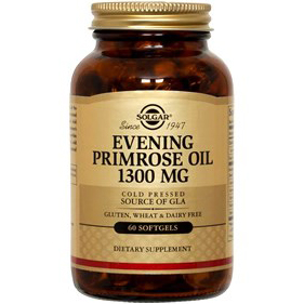 SOLGAR - EVENING PRIMPOSE OIL 1300 MG - 60SOFTGELS