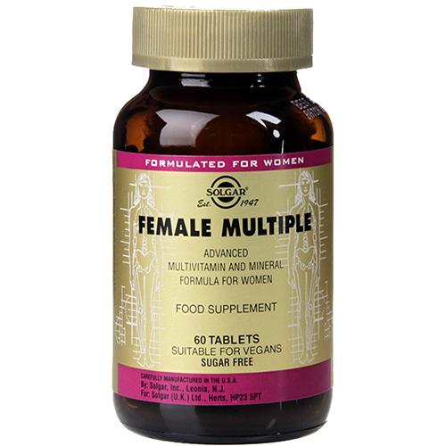 SOLGAR - FEMALE MULTIPLE - 60 VEGE CAPSULES