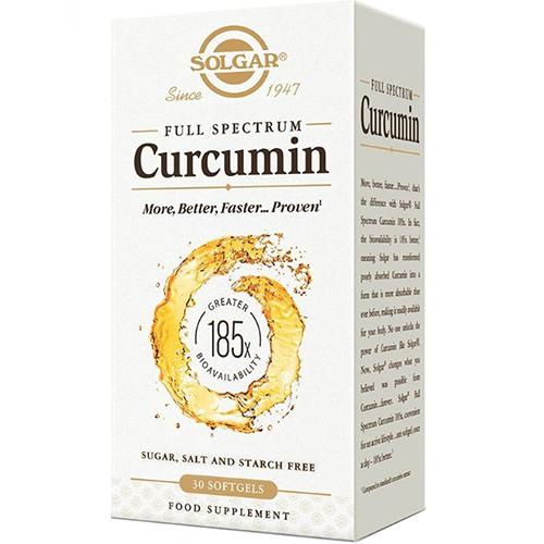 SOLGAR - FULL SPECTRUM CURCUMIN - 60 LIQUID EXTRACT_SOFTGELS