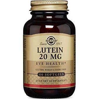 SOLGAR - LUTEIN 20MG EYE HEALTH* - 60SOFTGELS