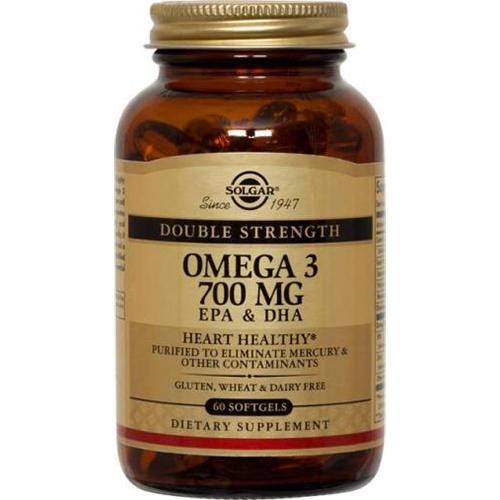 SOLGAR - OMEGA 3 700MG EPA & DHA - 60SOFTGELS