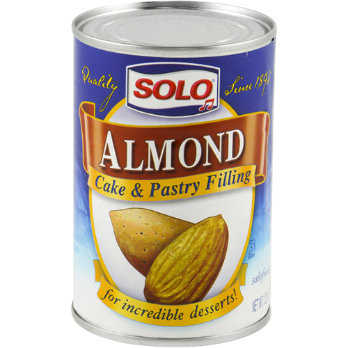 SOLO - ALMOND CAKE & PASTRY FILLING - 12.5oz