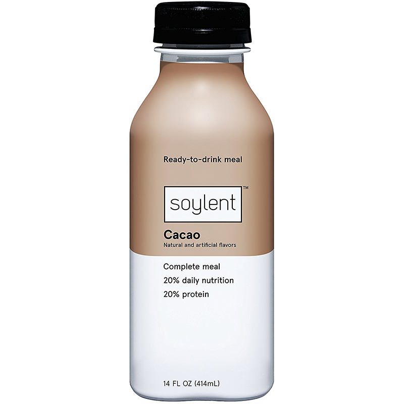 SOYLENT - COMPLETE MEAL 20% PROTEIN - (Cacao) - 14oz