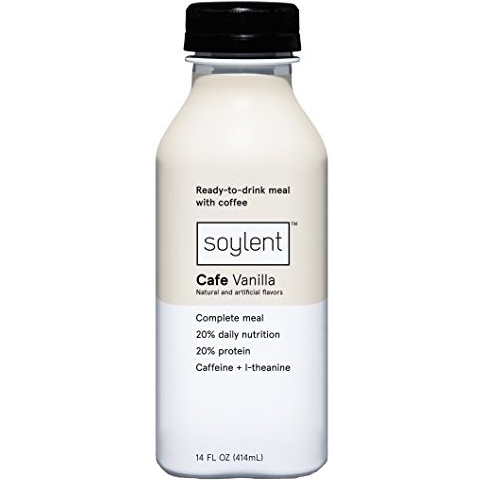 SOYLENT - COMPLETE MEAL 20% PROTEIN - (Vanilla) - 14oz