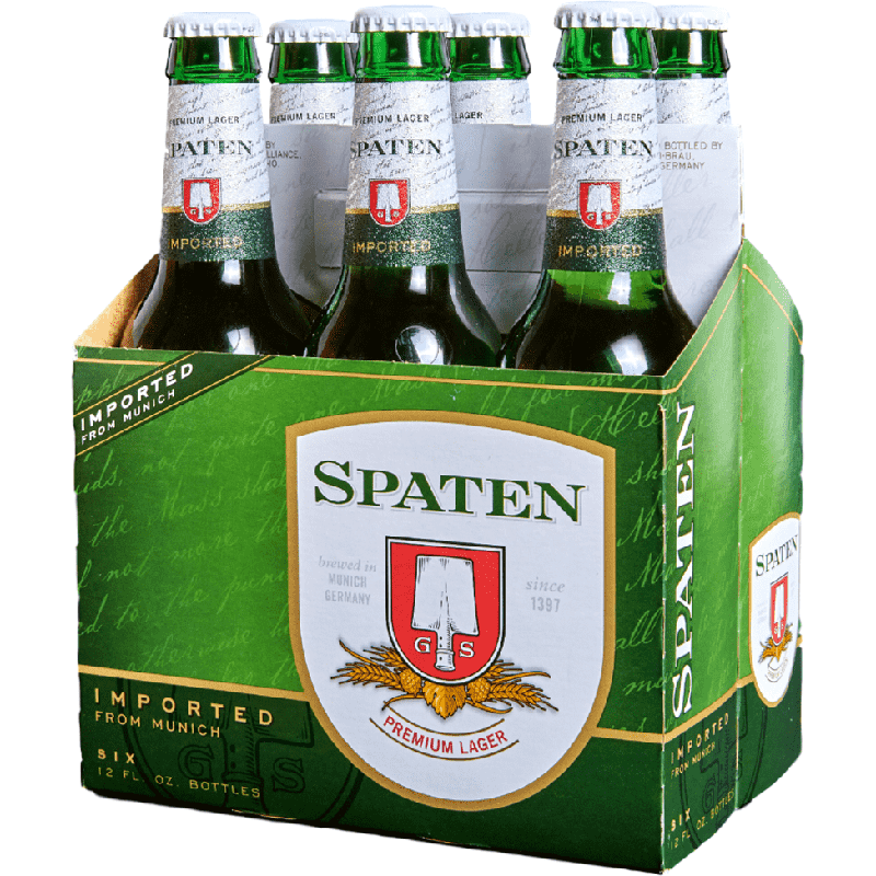 SPATEN PREMIUM LAGER - (Bottle) - 12oz(6PK)