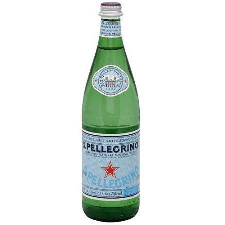 S.PELLEGRINO SPARKLING NATURAL MINERAL WATER - 750ml