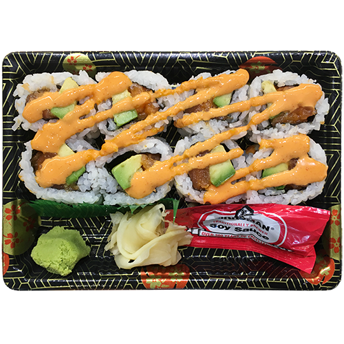 Spicy Salmon Avo Roll