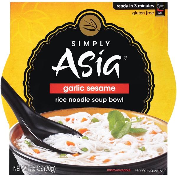 SIMPLY ASIA - GARLIC SESAME- GLUTEN FREE - NOODLE SOUP - 2.5oz