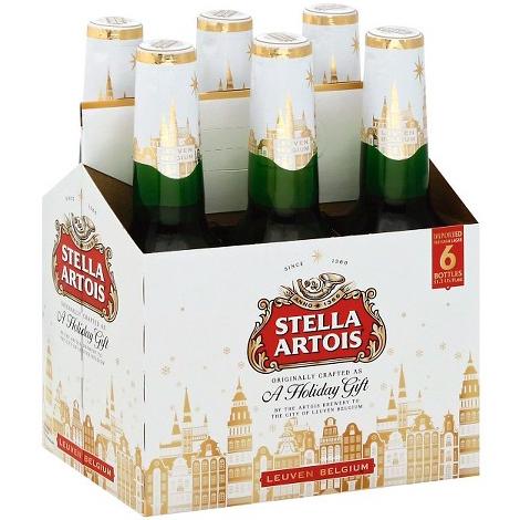 STELLA ARTOIS - (Bottle) - 11.2oz(6PK)