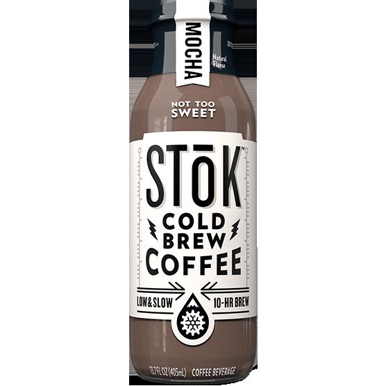 STOK - COLD BREW COFFEE - (Mocha) - 13.7oz