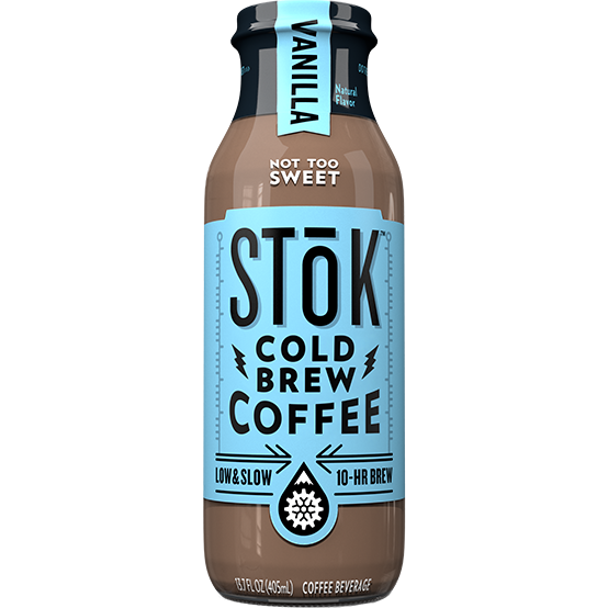 STOK - COLD BREW COFFEE - (Vanilla) - 13.7oz