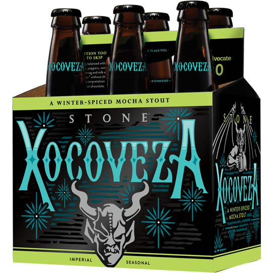 STONE XOCOVEZA - (Bottle) - 12oz(6PK)