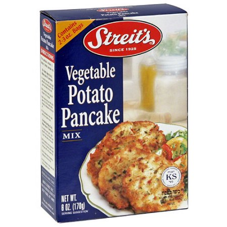 STREIT'S - VEGETABLE POTATO PANCAKE - GLUTEN FREE - MIX- 8oz