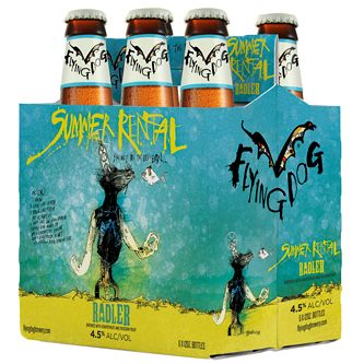 SUMMER RENTAL GRAPEFRUIT RADLER - (Bottle) - 12oz(6PK)