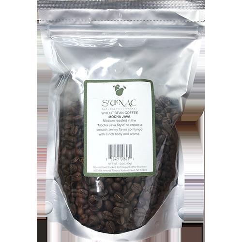 SUNAC - WHOLE BEAN COFFEE - (Mocha Java) - 12oz