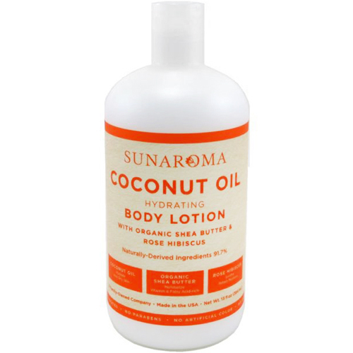 SUNAROMA - BODY LOTION - (Coconut Oil | Hydrating) - 13oz