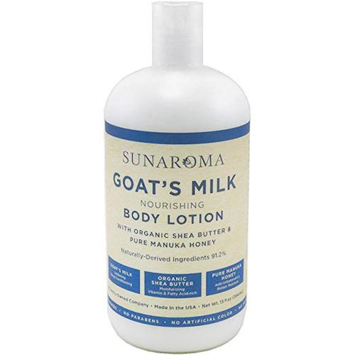 SUNAROMA - BODY LOTION - (Goat's Milk | Nourishing) - 13oz