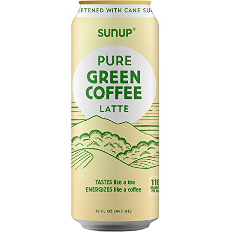 SUNUP - PURE GREEN COFFEE LATTE - 15oz