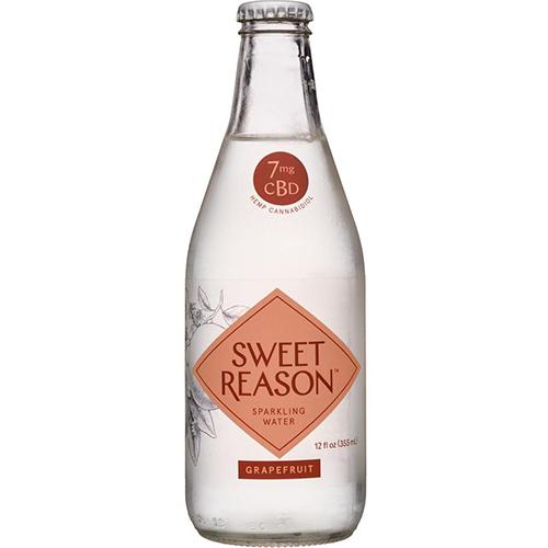 SWEET REASON - 7mg SPARKLING WATER - (Grapefruit) - 12oz