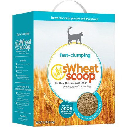 SWHEAT SCOOP - FAST CLUMPING CAT LITTER - 15LB