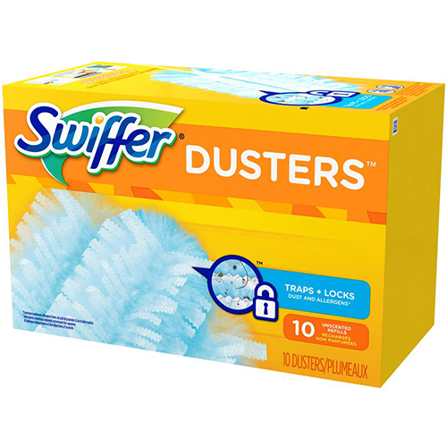 SWIFFER - DUSTERS TRAP+LOCK MULTI SURFACE - 10DUSTERS