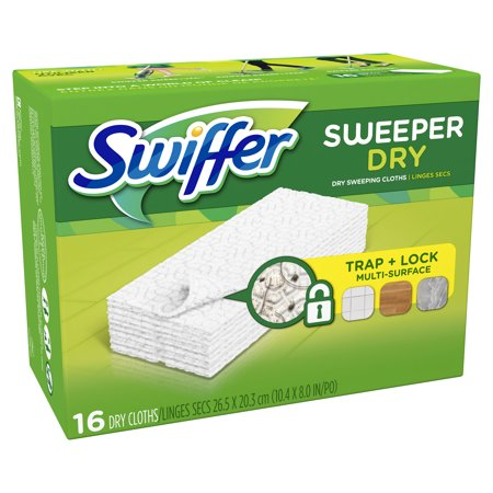 SWIFFER - SWEETER DAY TRAP+LOCK MULTI SURFACE - (Lavender Vanilla) - 16counts
