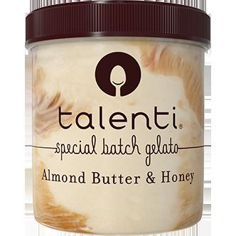 TALENTI - DAIRY FREE SORBETTO - GLUTEN FREE - (Almond Butter & Honey) - 16oz