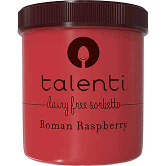 TALENTI - DAIRY FREE SORBETTO - GLUTEN FREE - (Roman Raspberry) - 16oz