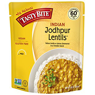 TASTY BITE - ALL NATURAL - VEGAN - GLUTEN FREE - NON GMO - (Jodhpur Lentils) - 10oz