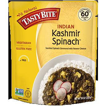 TASTY BITE - ALL NATURAL - VEGAN - GLUTEN FREE - NON GMO - (Kashmir Spinach) - 10oz
