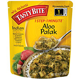 TASTY BITE - ALL NATURAL - (Aloo Palak) - 10oz