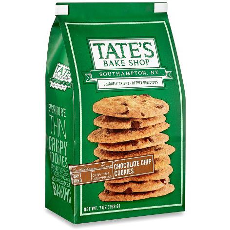TATE'S - CHOCOLATE CHIP COOKIES - 7oz