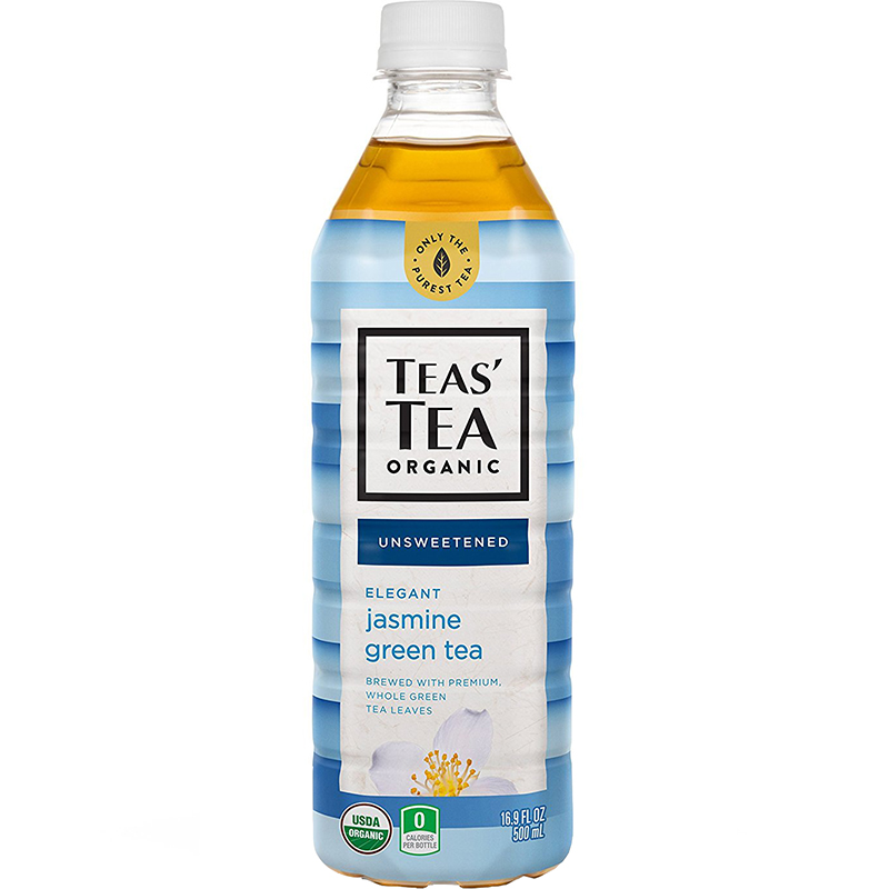 TEAS' TEA ORGANIC - (Jasmine Green Tea | Unsweetened) - 16.9oz