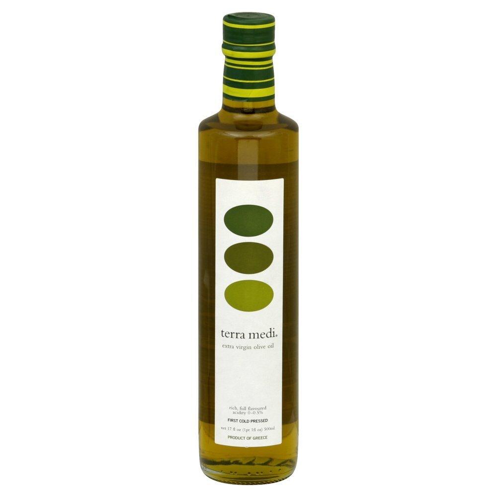TERRA MEDI - 100% EXTRA EXTRA VIRGIN OLIVE OIL - NON GMO - 17oz