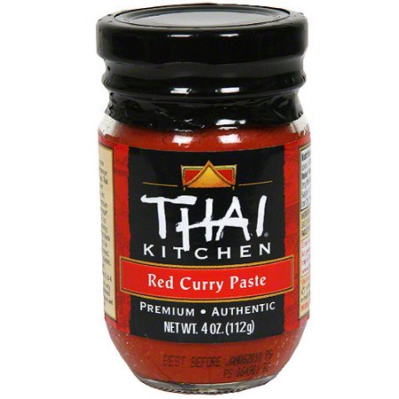 THAI KITCHEN - GLUTEN FREE - (Red Curry) PASTE - 4oz