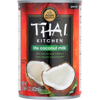 THAI KITCHEN - LITE COCONUT MILK - 60% LESS FAT - 13.66oz