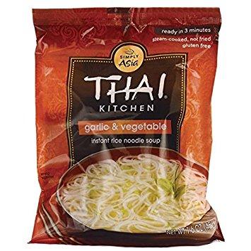 THAI KITCHEN - NOODLE SOUP - GLUTEN FREE (Garlic & Vegetable) - 1.6oz