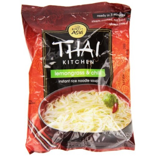 THAI KITCHEN - NOODLE SOUP - GLUTEN FREE (Lemongrass & Chili) - 1.6oz