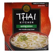THAI KITCHEN - RICE NOODLE SOUP BOWL - GLUTEN FREE - SPRING ONION - 2.4oz
