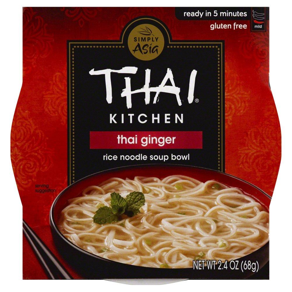 THAI KITCHEN - RICE NOODLE SOUP BOWL - GLUTEN FREE - THAI GINGER - 2.4oz
