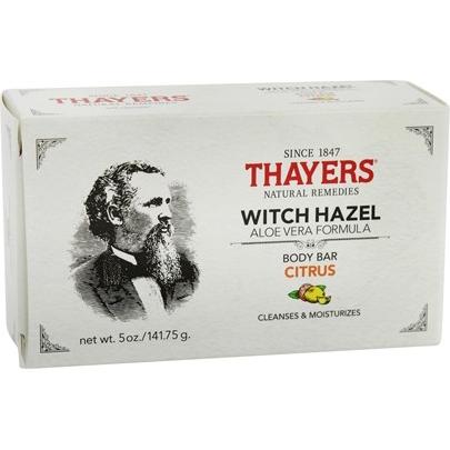 THAYERS - WITCH HAZEL BODY BAR (Agrumes) - 5oz